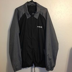 Like NEW! Hurley Mens Windbreaker! Size XXL!